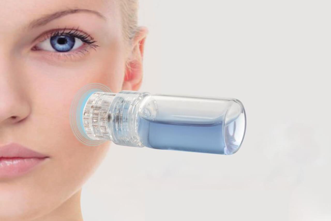 hudbehandling med Hydra Boost